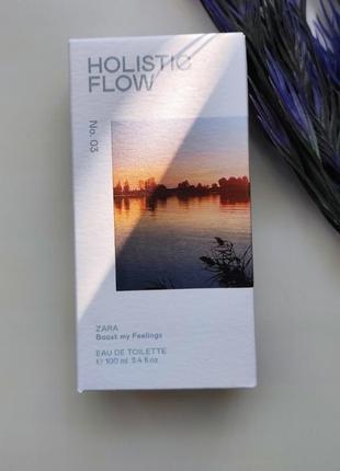 Zara holistic flow туалетная вода оригінал іспанія