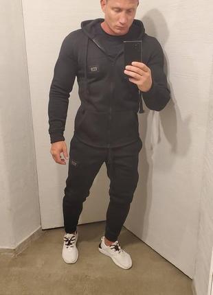 Теплый спортивный костюм кофта на замке 4 цвета