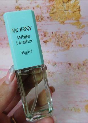 Винтажный парфюм  morny white heather
