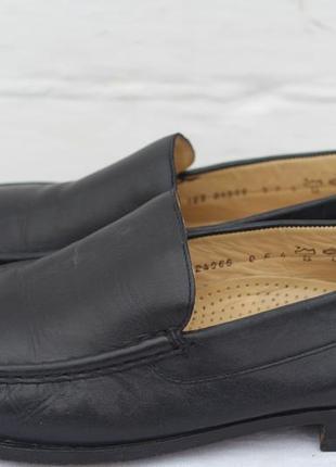 Кожаные туфли мокасины salamander оригинал