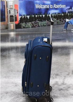 Тканевый дорожный чемодан на 4-х колесх ormi2 фото
