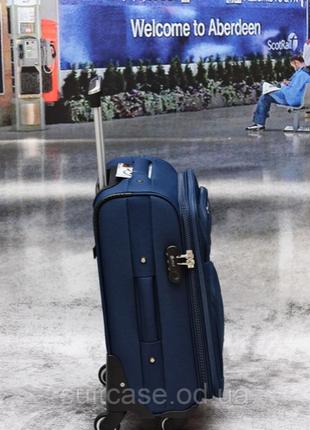 Тканевый дорожный чемодан на 4-х колесх ormi4 фото