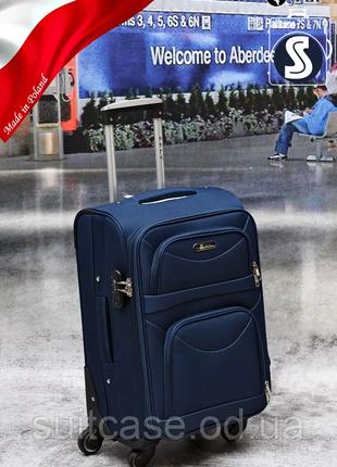 Тканевый дорожный чемодан на 4-х колесх ormi7 фото