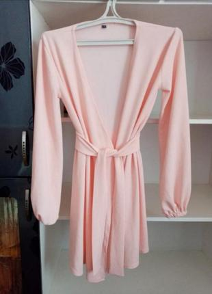 Платье халат плаття на запах платтячко коротка сукня