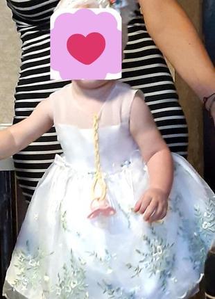 Нежное платье на 1 годик3 фото