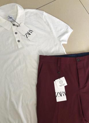 Штаны, брюки, джинсы zara