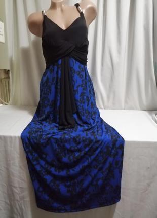 Красивое платье принт