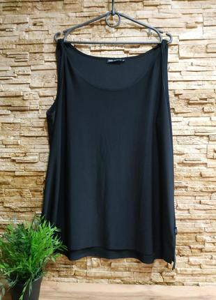 Свободная эластичная блузка, маечка