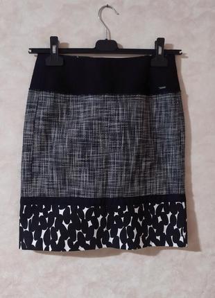 Новая юбка карандаш tom tailor, xs-s