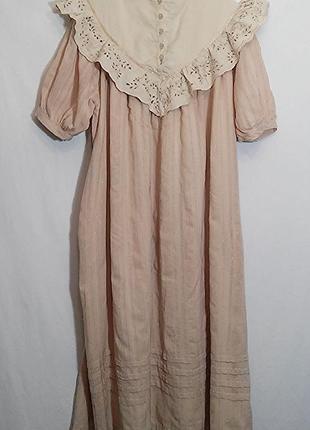 Платье миди хлопок винтаж6 фото