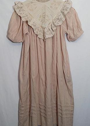 Платье миди хлопок винтаж5 фото