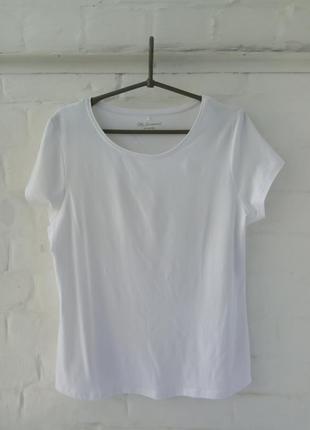 Женская футболка полу х/б размер 54