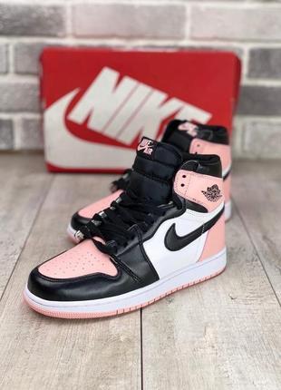 Женские демисезонные спортивные кроссовки nike air jordan