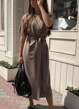 Шикарное платье сиди с плясом на запах