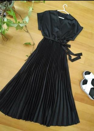 Восхитительное платье из атласа new look