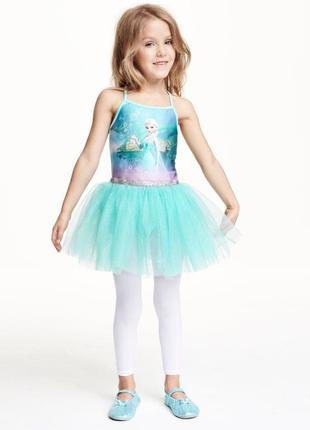 Купальник платье юбка пачка h&m эльза frozen