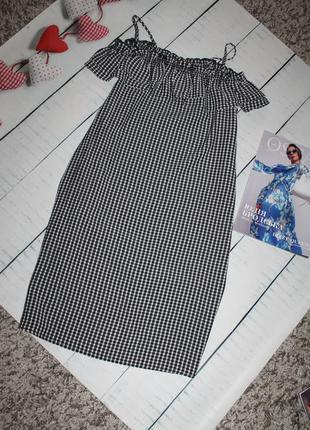 Сарафан платье в клетку