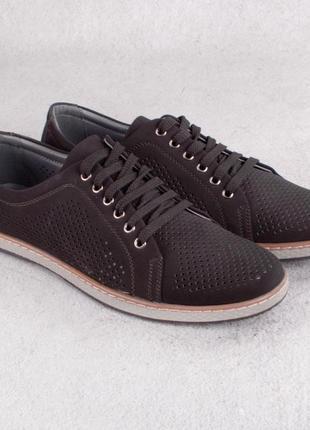 Туфли мужские.перфорированные