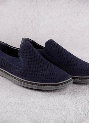 Комфортные мужские туфли баталы