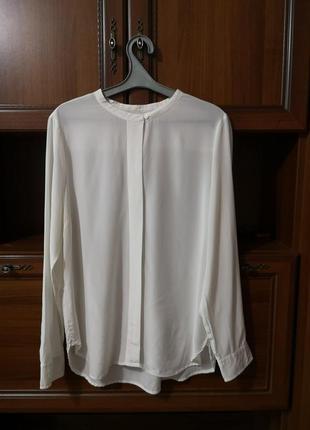 Шёлковая блуза рубашка