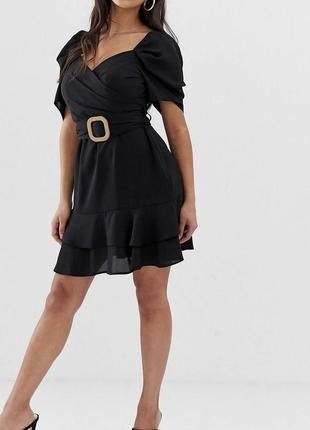 Новое летнее платье с бирками брендовое с поясом asos