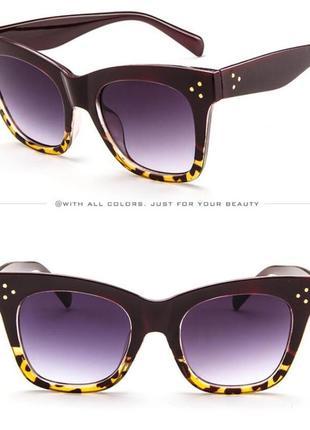 3 стильные модные солнцезащитные очки