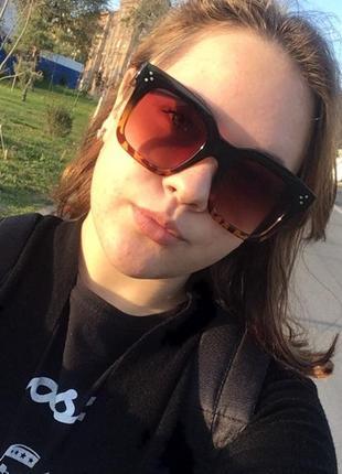 3 стильные модные солнцезащитные очки10 фото