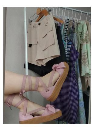 Puma fenty by rihanna creeper sandals / сандалии босоножки криперы