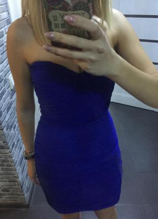 Платье синее kira plastinina