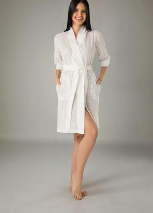 Жіночий халат, бавовняний nusa,