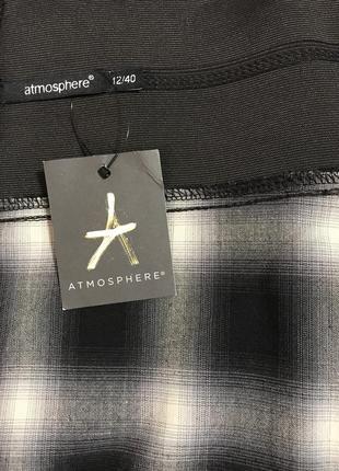 Очень красивая и стильная брендовая юбка в клетку.