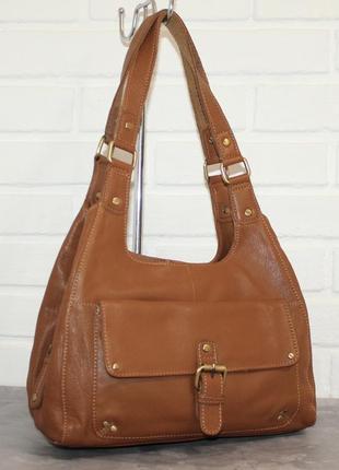 Кожаная сумка от bolla. 100% натуральная кожа
