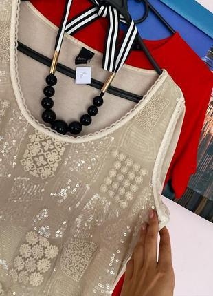 Нарядная блуза с декором2 фото