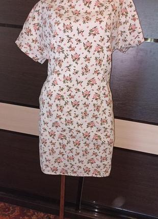 Льняное платье garne