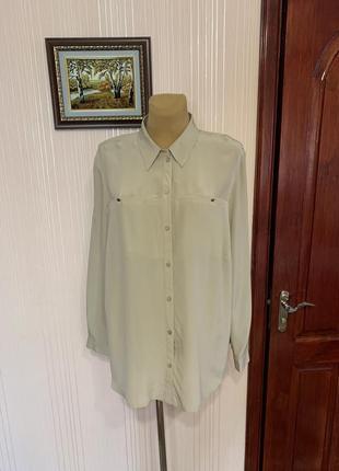 Брендовая блуза-рубашка