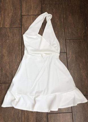 Новое летнее платье с открытой спиной с бирками легкое asos