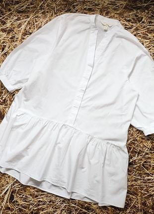 Новое платье, туника, хлопок  h&m. размер s, m