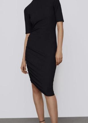 Фирменное модное платье zara