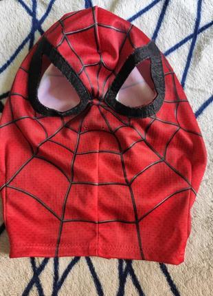 Карнавальный костюм маска человек паук спайдермен на 3-4года