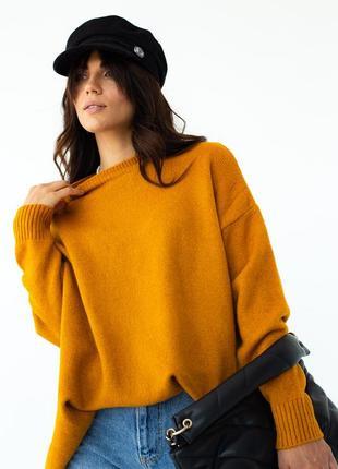 Мягкий свитер оверсайз 😍