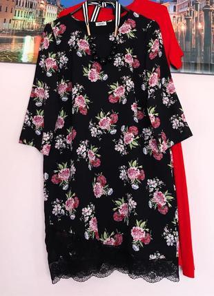 Плаття в квіти супер бренд 👍