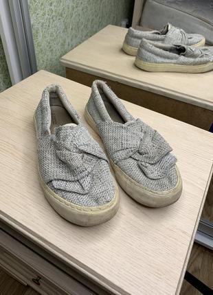 Мокасины , женские тапочки , женская обувь
