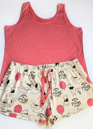 Пижама новая аутлет хлопок большой размер