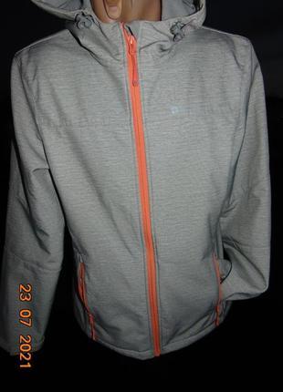 Стильная спортивная фирменная термо курточка демисезон mountain .м-л .