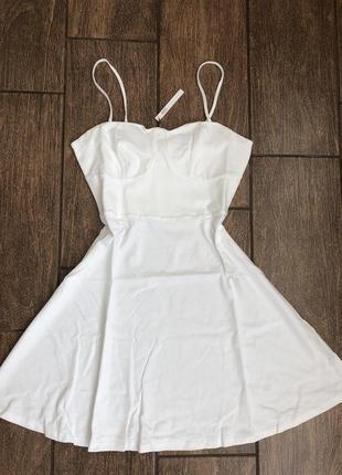Новое хлопок летнее платье с бирками легкое брендовое asos