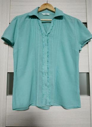 Легкая блуза из тонкого хлопка marks & spencer