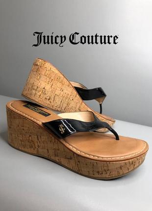 Juicy couture босоножки на платформе на подошве высокой вьетнамки оригинал rundholz owens