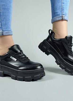 Кроссовки ботинки на шнуровке d29