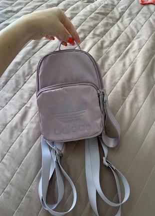 Рюкзак adidas mini backpack soft vision лиловый