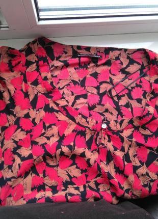 Вискозное легкое фирменное платье jeffrey and paula р.18 (индия)6 фото